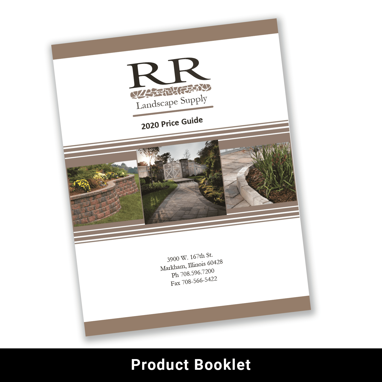Print product booklet example