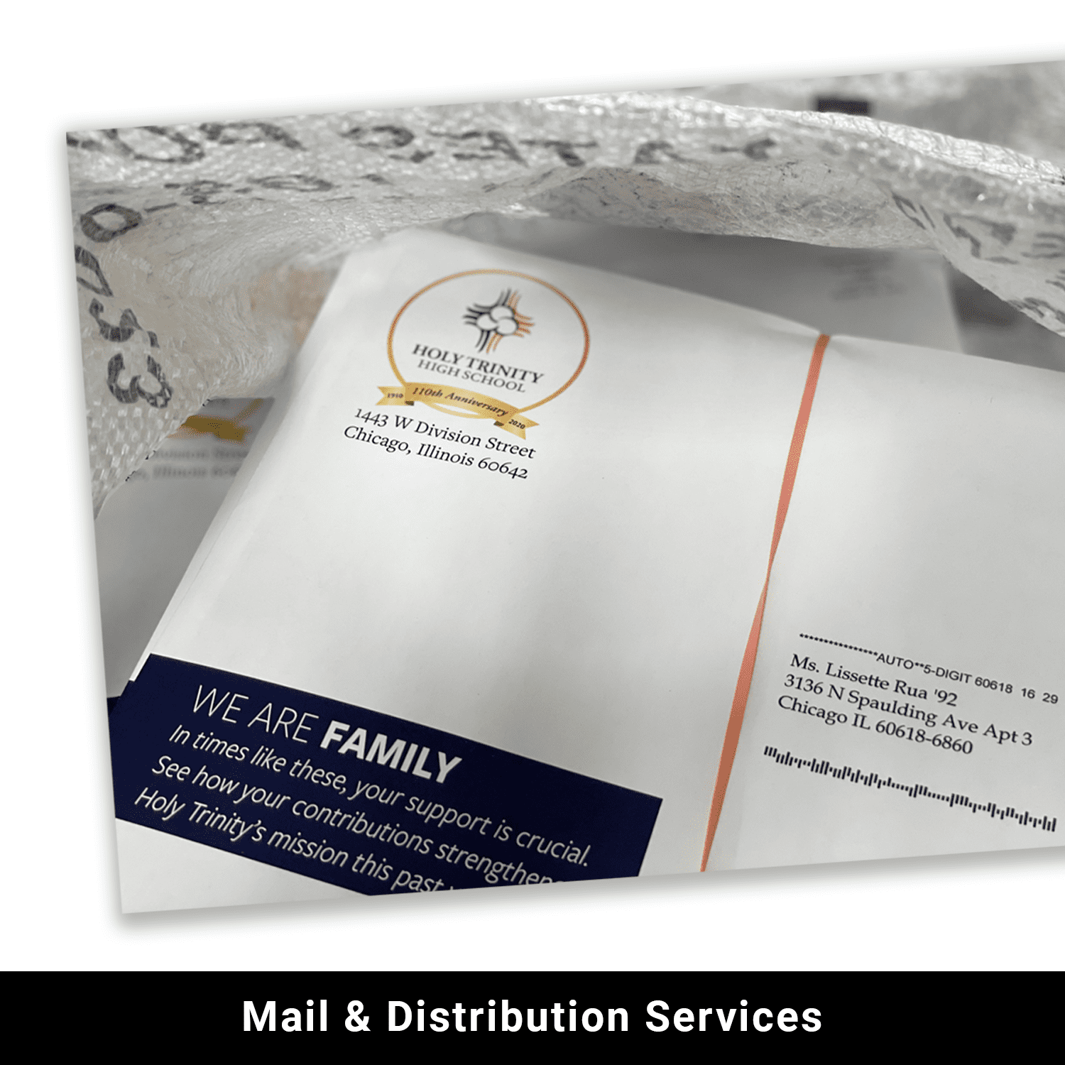 Mail and distribution services